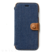 【iPhone6s/6 ケース】Denim Vintage Pocket Diary