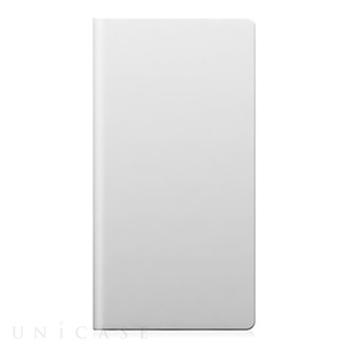 iPhone6 ケース D5 Calf Skin Leather Diary ホワイト