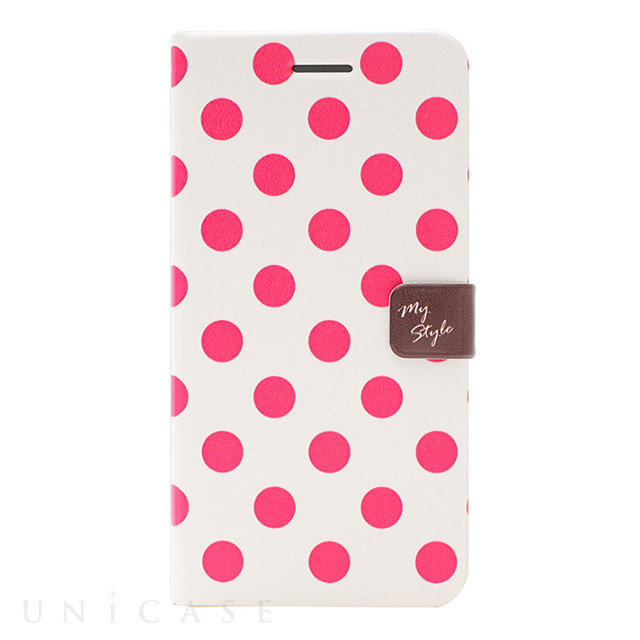 【iPhone6s/6 ケース】Style Dot Diary (チェリー)
