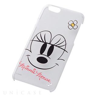 iPhone6 ケース クローズアップ・シェル/ミニー