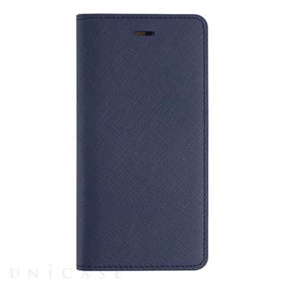 iPhone6 Plus ケース Saffiano Flip Case クラシックネイビー