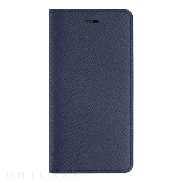 【iPhone6s Plus/6 Plus ケース】Saffiano Flip Case (クラシックネイビー)