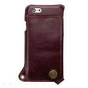 【iPhone6s/6 ケース】BZGLAM Wearable Leather Cover ブラウン
