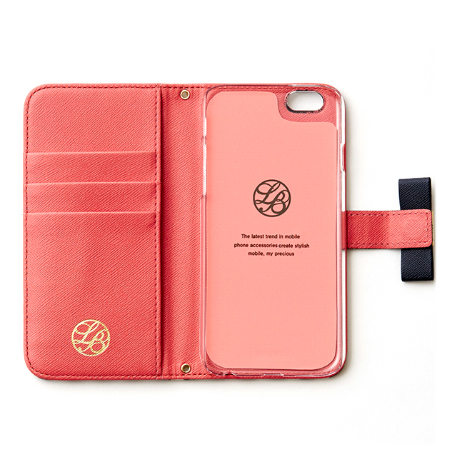 【iPhone6 ケース】La Boutique ストライプ iPhoneケース for iPhone6 (NV)