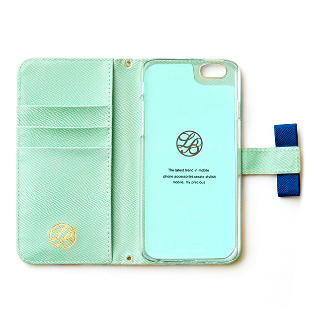 【iPhone6 ケース】La Boutique ガーデン iPhoneケース for iPhone6 (WH)