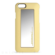 【iPhone6s/6 ケース】Mirror Beauty Case Yellow
