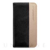 【iPhone6s Plus/6 Plus ケース】Fashion Wallet Black Nano