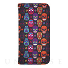 【限定】【iPhone6s/6 ケース】YAKPAK ウォレットケース for iPhone6s/6 (Hippie Skulls Black)
