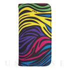 【限定】【iPhone6s/6 ケース】YAKPAK ウォレットケース for iPhone6s/6 (Multi Black Zebra)