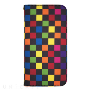 YAKPAK(ヤックパック) 【iPhone6s/6 ケース】YAKPAK ウォレットケース for iPhone6s/6 (Multi Checkerboard)