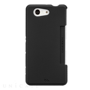 【XPERIA Z3 Compact ケース】Tough Case Black/Black
