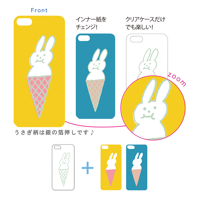 【iPhoneSE/5s/5 ケース】iPhone Case UB-corn CR2サブ画像