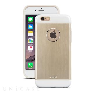 【iPhone6s/6 ケース】iGlaze Armour Satin Gold