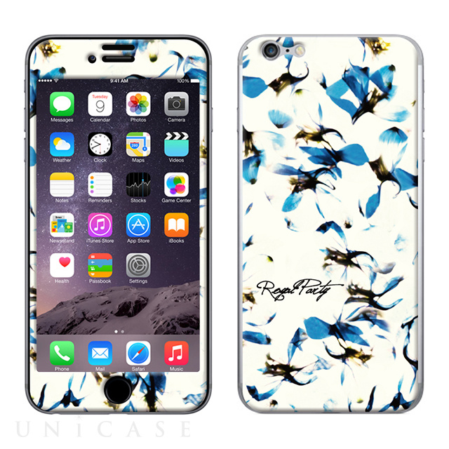 【限定】【iPhone6s/6 スキンシール】Gizmobies Amaryllis BLUE - ROYAL PARTY