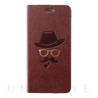 【iPhone6s Plus/6 Plus ケース】Gentleman Case ブラウン