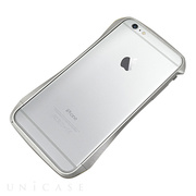 【iPhone6s Plus/6 Plus ケース】CLEAVE Aluminum Bumper (Silver)