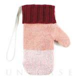 【iPhoneSE/6s/6/5s/5c/5 ケース】SMART PHONE POUCH Mitten (ピンク)