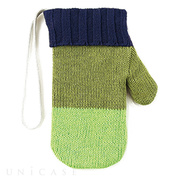 【iPhoneSE/6s/6/5s/5c/5 ケース】SMART PHONE POUCH Mitten (グリーン)