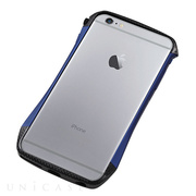 【iPhone6s Plus/6 Plus ケース】CLEAVE Hybrid Bumper (Carbon&Blue)