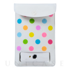 Water Proof (Colorful Drop White)