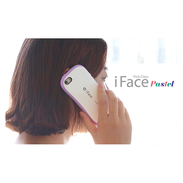 【iPhone6s/6 ケース】iFace First Class Pastelケース(ホワイト/ピンク)サブ画像