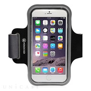 【iPhone6 Plus ケース】Neoprene Armband with Cable Management (ブラック)