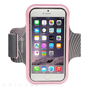 【iPhone6 Plus ケース】Neoprene Armband with Cable Management (ピンク)