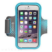 【iPhone6 Plus ケース】Neoprene Armband with Cable Management (ブルー)