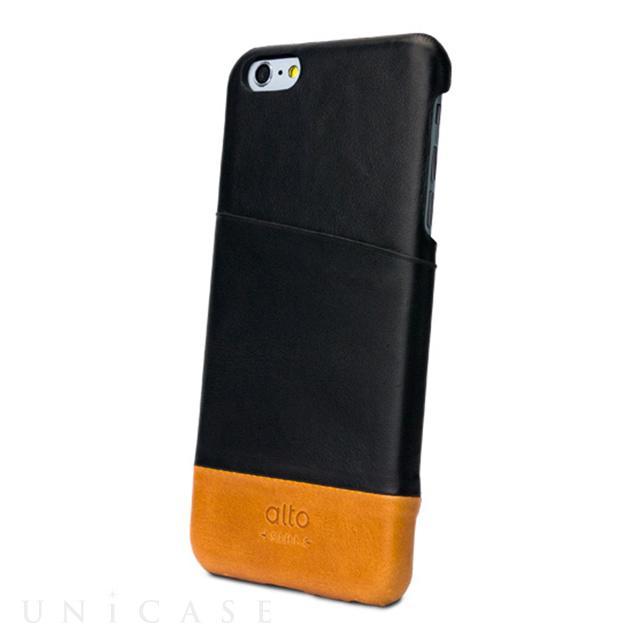 【iPhone6s Plus/6 Plus ケース】Metro (ブラック/ブラウン)