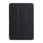 【iPad mini3/2/1 ケース】CarbonLook SHELL with Front cover for iPad mini カーボンブラック