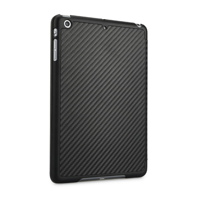 【iPad mini3/2/1 ケース】CarbonLook SHELL with Front cover for iPad mini カーボンブラックサブ画像