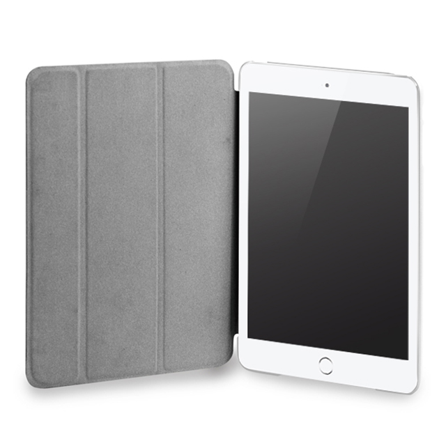 【iPad mini3/2/1 ケース】LeatherLook SHELL with Front cover for iPad mini ローズピンクサブ画像