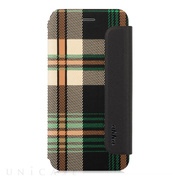 【iPhone6s Plus/6 Plus ケース】Fashion Flip Case CONRAN Green Checker