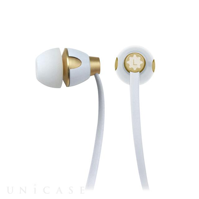 TUNESONIC for スマートフォン ホワイト/ゴールド