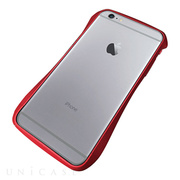 【iPhone6s Plus/6 Plus ケース】CLEAVE Aluminum Bumper (Red)
