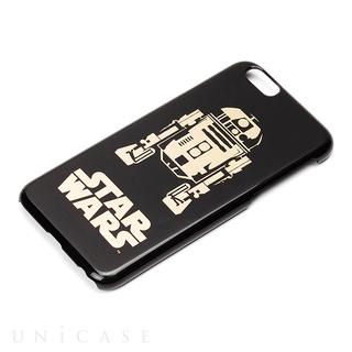iPhone6s/6 ケース STARWARS ハードケース 金箔押し R2-D2