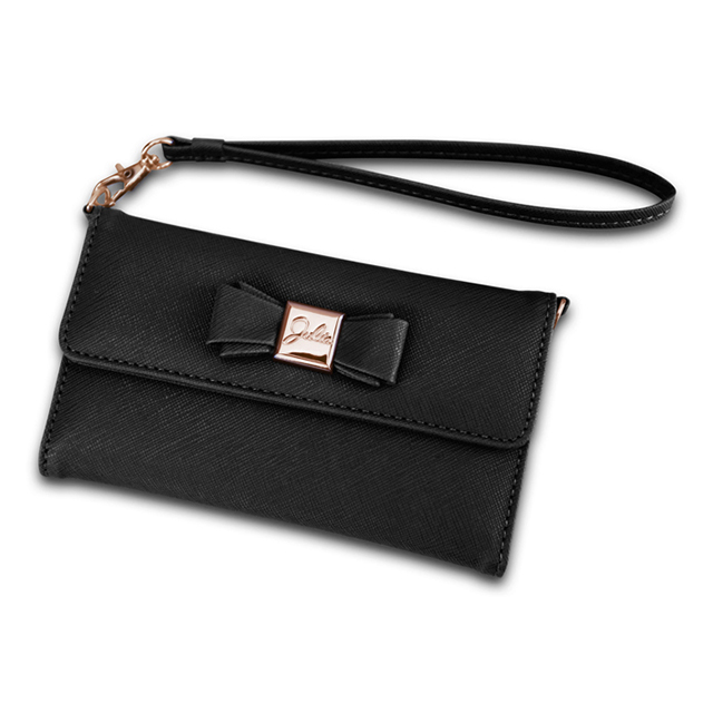 【iPhone6s/6 ケース】Julia PhonePochette (ブラック)