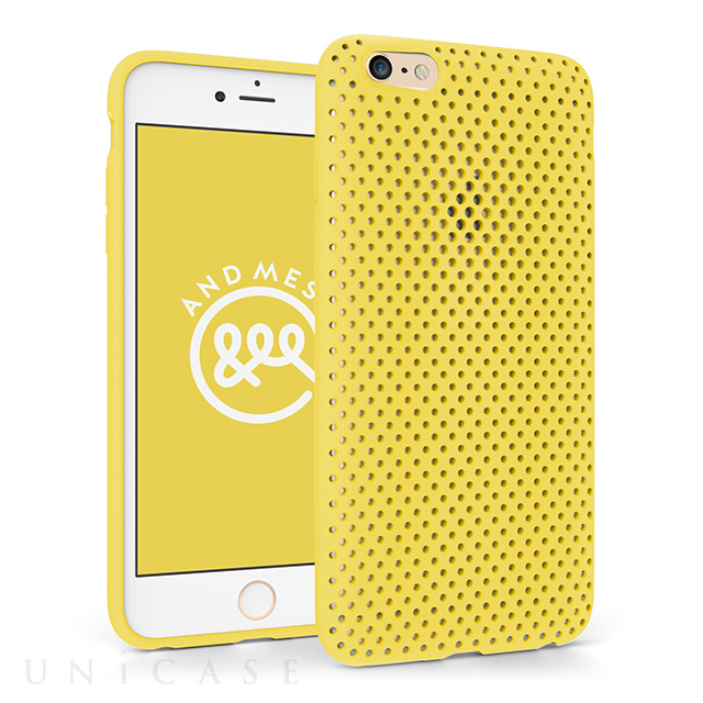 【iPhone6 Plus ケース】Mesh Case (Yellow)