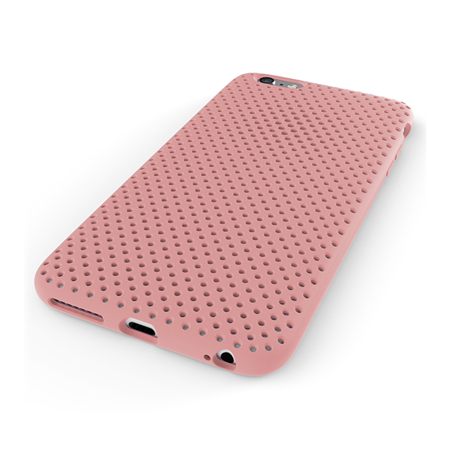 【iPhone6 Plus ケース】Mesh Case (Pink)