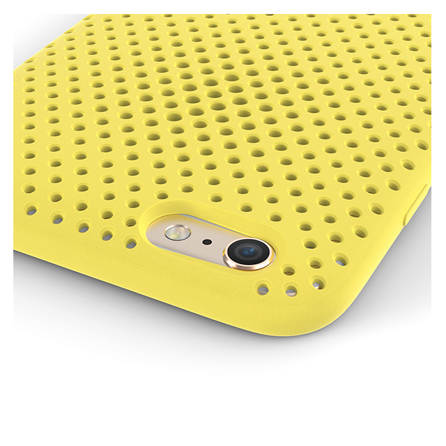 【iPhone6 Plus ケース】Mesh Case (Yellow)サブ画像