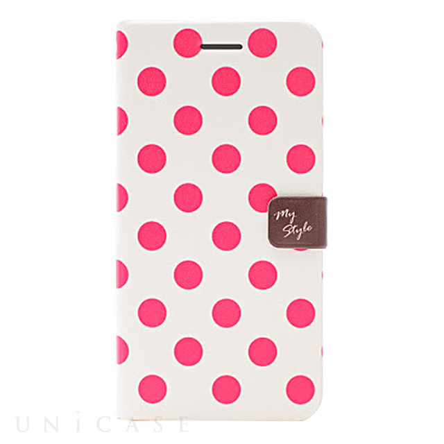 【iPhone6s Plus/6 Plus ケース】Style Dot Diary (チェリー)