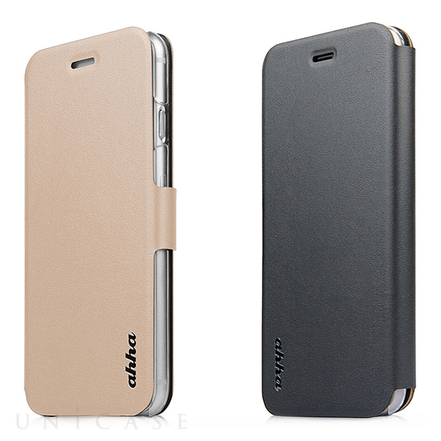 【iPhone6s Plus/6 Plus ケース】Dual Face Flip Case SYKES BASIC Champagne Gold/Space Grey