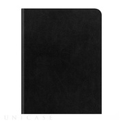【iPad Air2 ケース】D5 Calf Skin Leather Diary ブラック