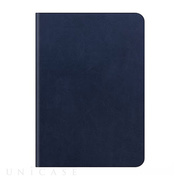 【iPad Air2 ケース】D5 Calf Skin Leather Diary ネイビー