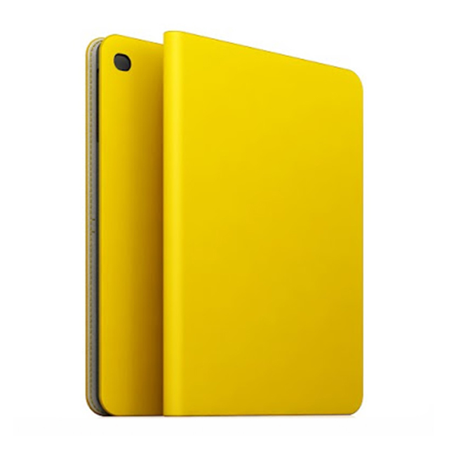 【iPad Air2 ケース】D5 Calf Skin Leather Diary イエローサブ画像