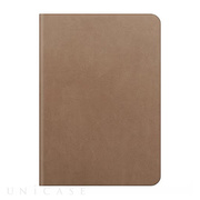 【iPad Air2 ケース】D5 Calf Skin Leather Diary ベージュ