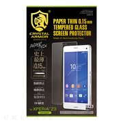 【XPERIA Z3 Compact フィルム】PAPER THIN 液晶保護 for Xperia Z3 Compact