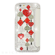 【iPhone6s/6 ケース】Elite folio Queen of Hearts