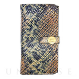 【iPhone6s Plus/6 Plus ケース】Luxe Exotic Female Wallet (Snake Tan)