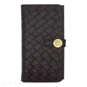 【iPhone6s Plus/6 Plus ケース】Luxe Exotic Female Wallet Weave (Black)